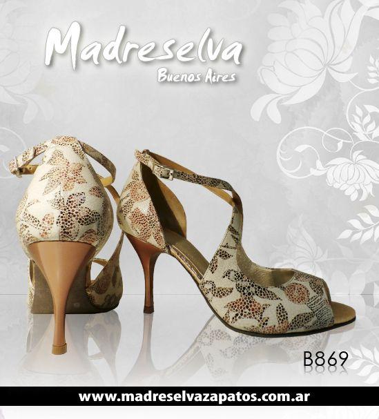 Zapatos de Tango B869