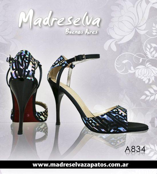 Zapatos de Tango A834N