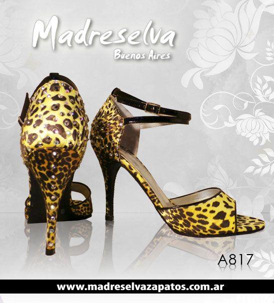 Zapatos de Tango A817bis