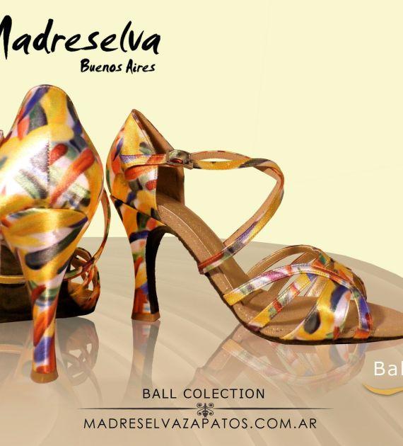 Zapatos de Salsa y Bachata Ball08 A