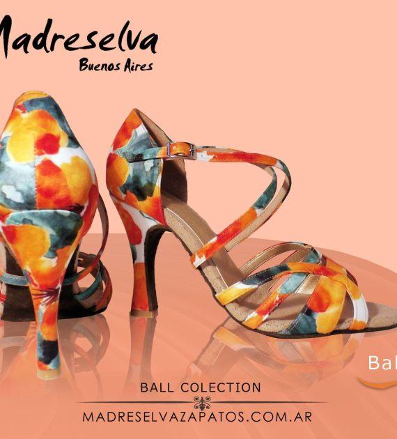 Zapatos de Salsa y Bachata Ball08M