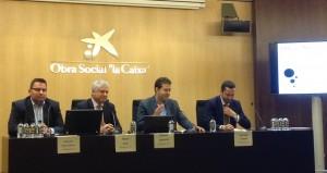 Eduardo Ruiz-Cuevas, Albert Solé, Marcos González y Santiago Losada.