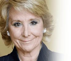 Excma. Sra. Doña Esperanza Aguirre Gil de Biedma