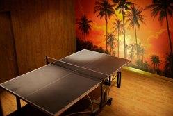 Lo de la mesa de ping pong no es una invención