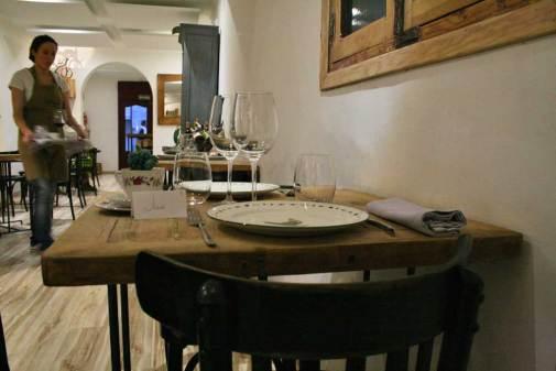 Comedor del restaurante El Triciclo en Madrid