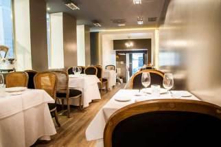 Comedor en la planta superior de More restaurante Madrid