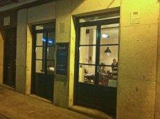 Restaurante Tándem en la calle Santa María de Madrid