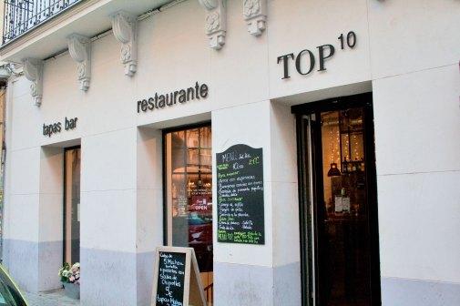 Top Ten en la calle Cardenal Cisneros