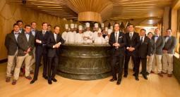 El equipo de restaurante A'Barra Madrid