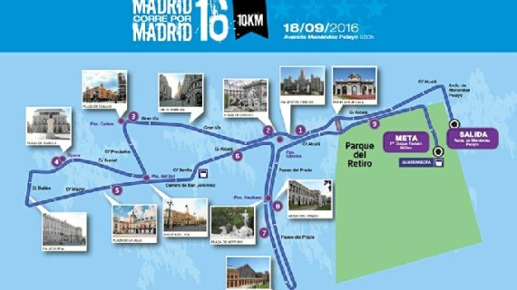 Diez mil madrileños podrán participar en la próxima edición de 'Madrid corre por Madrid'