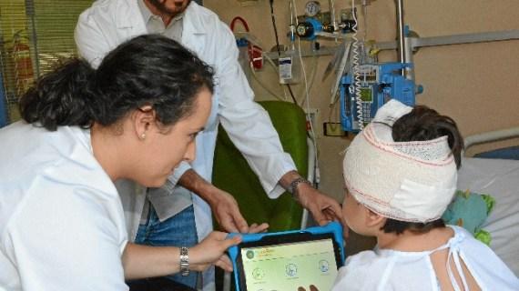 El Hospital Niño Jesús diseña una aplicación informática que mide el dolor de los niños