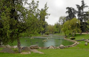 Los asistentes también recorrerán el parque de Aluche.