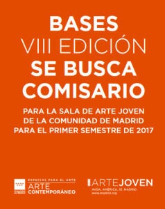 Cartel de la VIII edición del programa 'Se busca comisario'.