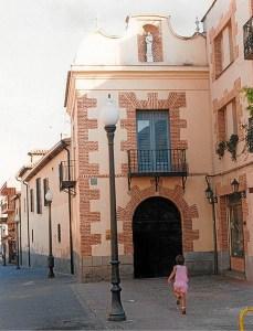 Hospitalillo de San José, uno de los lugares donde se encuentran los servicios de la delegación de Bienestar Social.