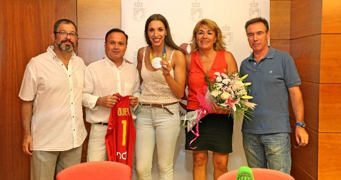 Coslada recibe a Laura Quevedo, medalla de plata en los Juegos Olímpicos de Río