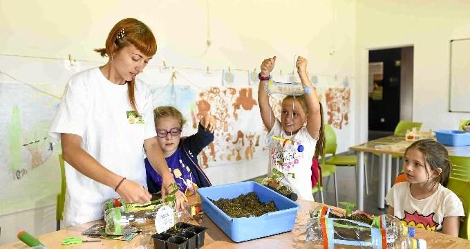 Éxito de participación en los campamentos de verano del Aula Medioambiental de Boadilla del Monte