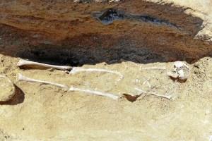 Restos arqueológicos descubiertos.