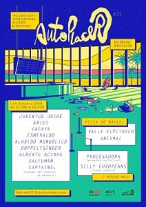 Cartel del Festival Autoplacer.