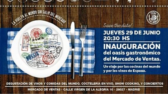 El mercado de las Ventas inaugura un nuevo oasis gastronómico