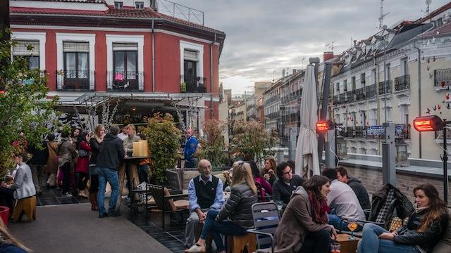 Terraza del Mercado San Antón