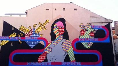 El Rey de la Ruina | Arte urbano en Madrid