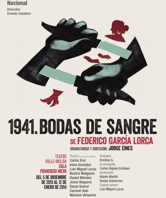 1941.Bodas de sangre. Federico García Lorca