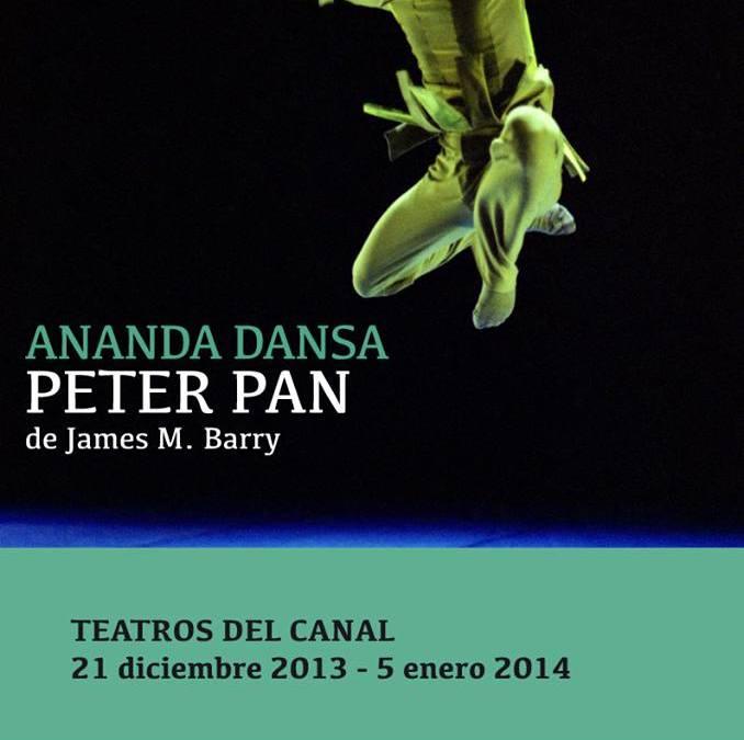 PETER PAN de Ananda Dansa en los Teatros del Canal