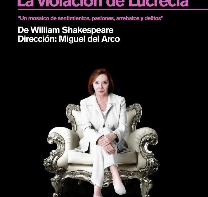 Vuelve Nuria Espert con 'La violación de Lucrecia'