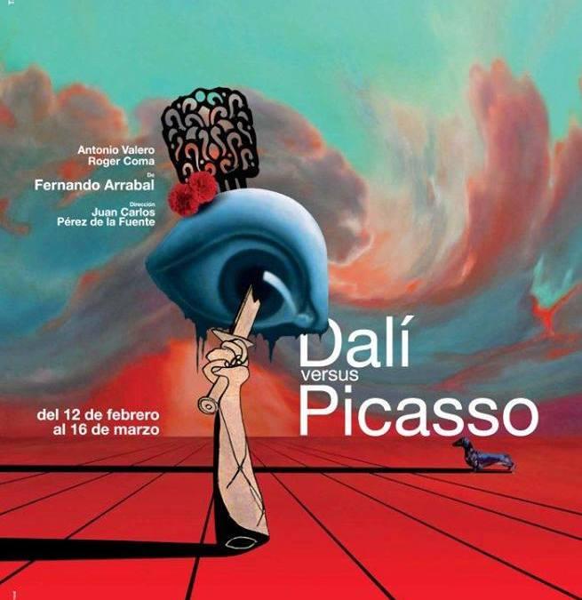 DALÍ versus PICASSO, de Fernando Arrabal
