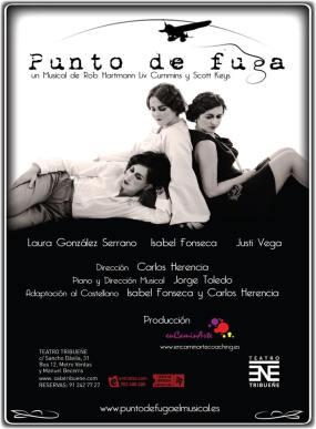 PUNTO DE FUGA en el Teatro Tribueñe