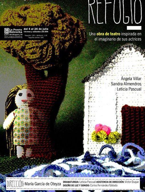 REFUGIO de Leticia Pascual en la Sala Nueve Norte
