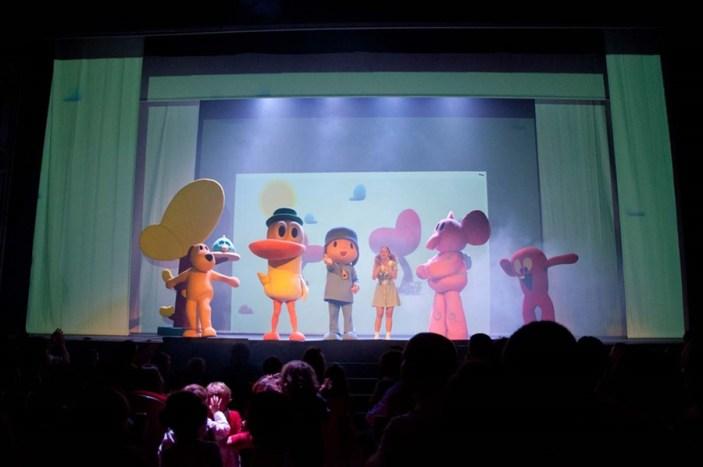 Pocoyó y sus amigos en el Teatro Compac Gran Vía