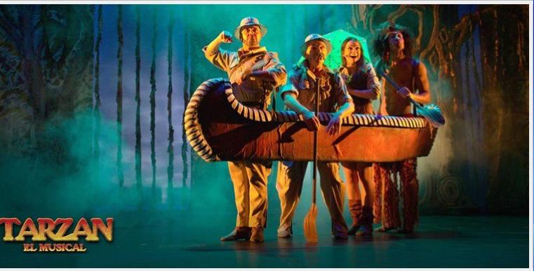 TARZÁN el Musical en el Teatro Reina Victoria