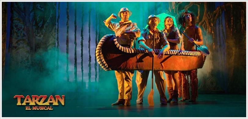 TARZAN EL MUSICAL en el Teatro Reina Victoria