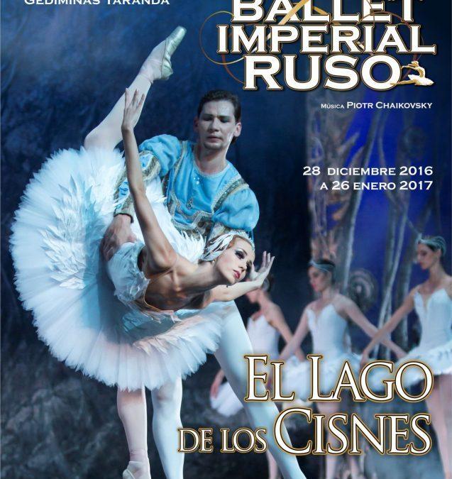 El lago de los cisnes – Ballet Imperial Ruso en Teatro de la Luz Philips