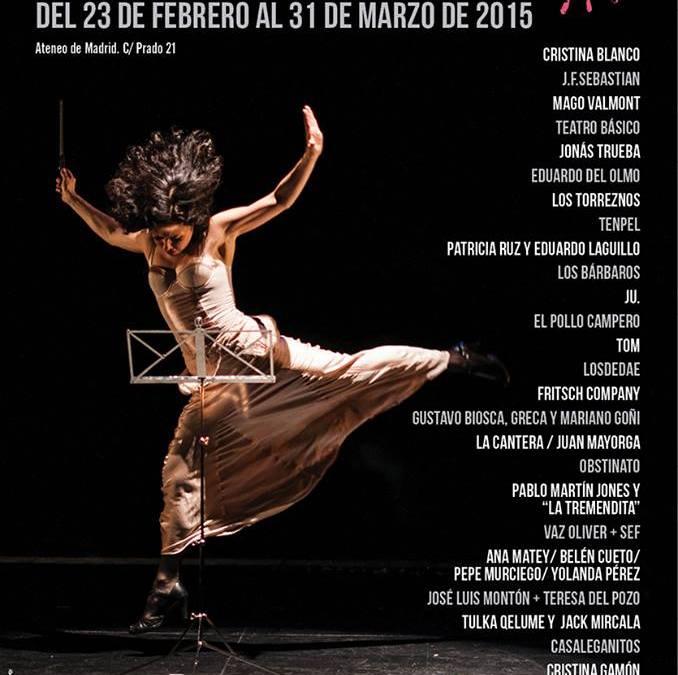 Propuestas Teatrales en el Festival Ateneo Mucha Vida
