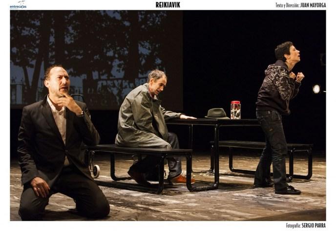 REIKIAVIK de Juan Mayorga en el Teatro Valle-Inclán
