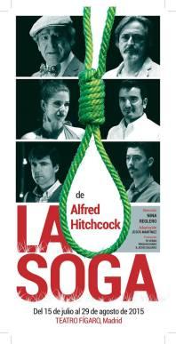 LA SOGA, de Alfred Hitchcock en el Teatro Figaro