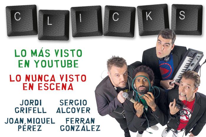 CLICKS en el Teatro Nuevo Alcalá