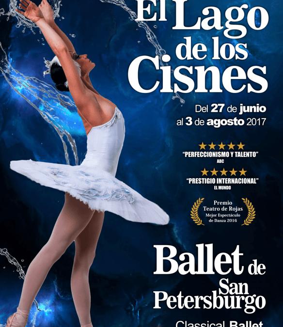 EL LAGO DE LOS CISNES – Ballet de San Petersburgo en el Teatro de la luz Philips Gran Vía