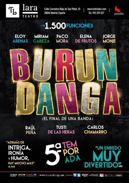 BURUNDANGA en el Teatro Lara