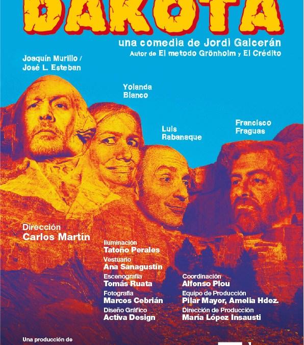 DAKOTA de Jordi Galcerán en el Teatro Lara