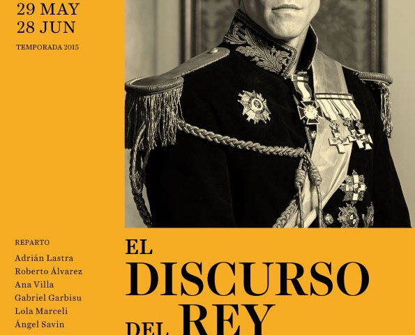 El discurso del rey. Teatro Español