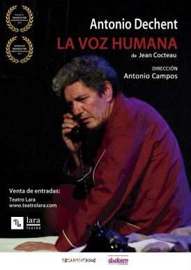 A VOZ HUMANA en el Teatro Lara