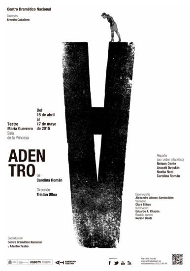 ADENTRO, de Carolina Román en el Teatro María Guerrero