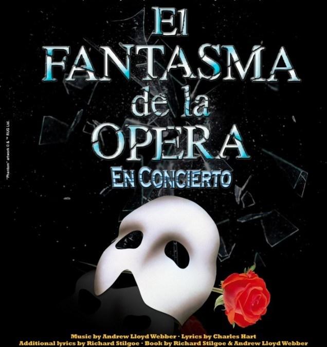 EL FANTASMA DE LA ÓPERA. En concierto en Madrid