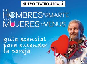 LOS HOMBRES SON DE MARTE Y LAS MUJERES DE VENUS, en el Nuevo Teatro Alcalá