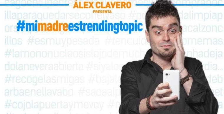 Álex Clavero #Mimadre es trending topic en Madrid