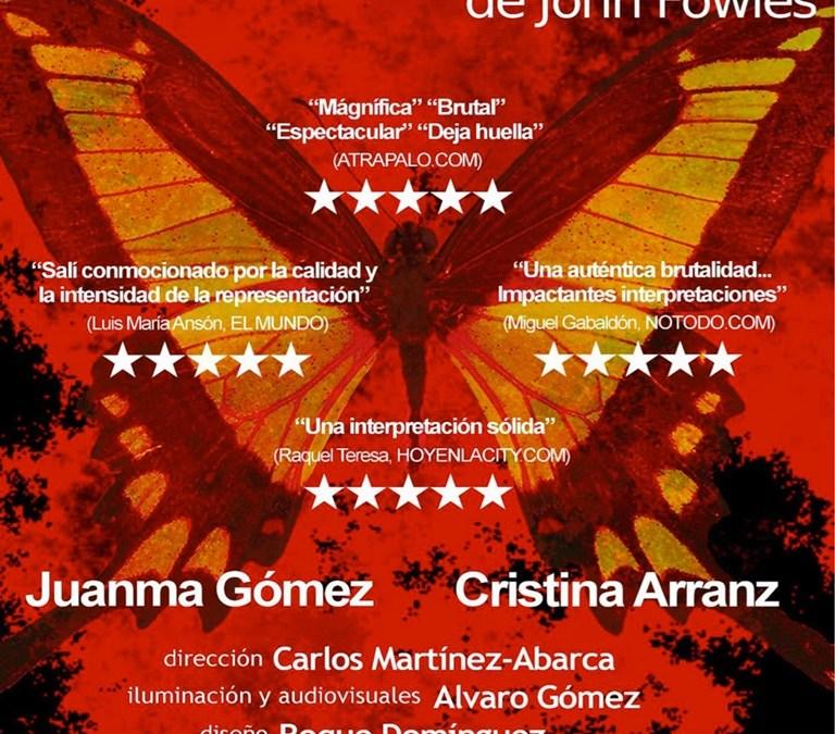 EL COLECCIONISTA en el Teatro Lara