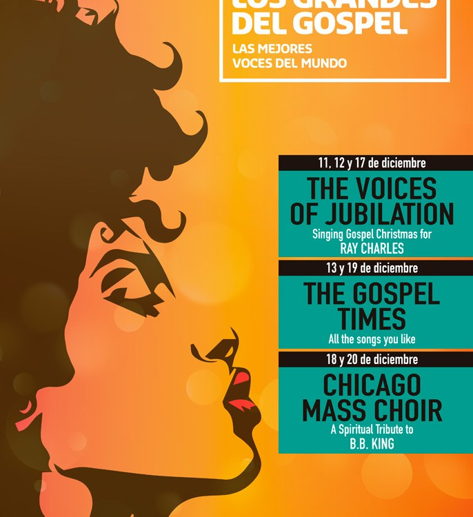XXI Festival Los Grandes del Gospel en el Teatro Fernán Gómez
